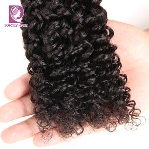 Image 5 - Tissage en lot brésilien naturel Remy, cheveux crépus bouclés, noir naturel, 8 à 28 pouces, lot de 1/3/4