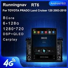 "9.7""  Android 10.1 For TOYOTA TOYOTA PRADO Land Cruiser 120 2003 Tesla Type Car Radio Multimedia Video Player Navigation GPS RDS"