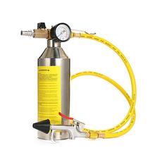 Juego de Herramientas de limpieza de tubos de aire acondicionado para coche, botella de limpieza, recipiente empotrado, mantenimiento
