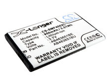 Batterie pour Samsung AB463651BE S3650 Corby, lame S5600, S5620 Payt,S7070 Diva 950mAh / 3.52Wh