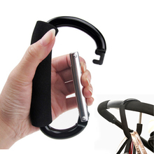 1шт высокое качество детские коляски крючки черный серебряный алюминий хозяйственная сумка коляска крючки детские коляски аксессуары крюк