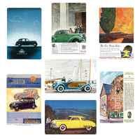 Cartel clásico de coche Vintage cartel de Metal placa Bar Club cafetería tienda hogar Decoración de pared arte pintura platos Vintage cartelera Decoración