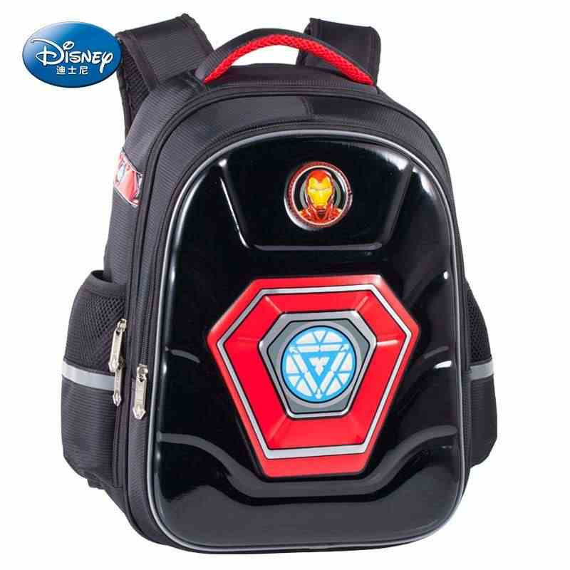 Disney 3D cartoon Marvel school bags for boy iron spider man captain america super light primary school backpack mochila escolar