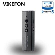 VIKEFON transmisor y receptor Bluetooth 5,0 para TV, PC, auriculares para coche, RCA, conector Aux de 3,5mm, adaptador inalámbrico de Audio y música estéreo