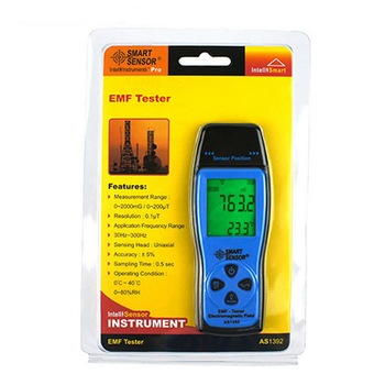 Junejour emf meter handheld electromagnetic field radiation detector  digital lcd display