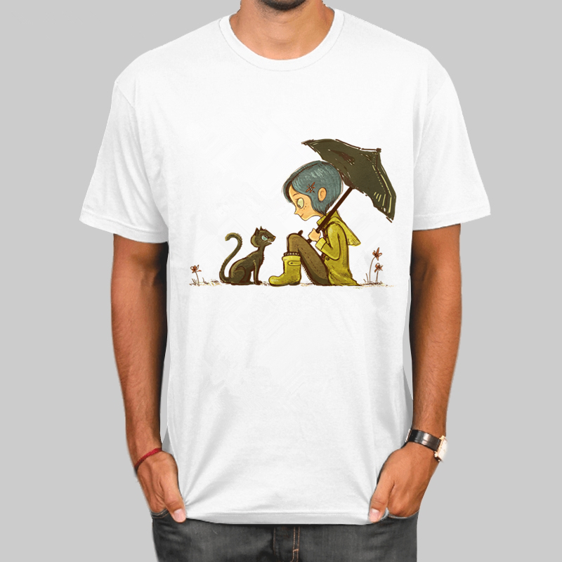 Coraline Soft T Shirt Unisex New Hip Hop Camiseta T Shirt New Arrival Plus Size Nice Streetwear T Shirt