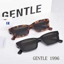 Korean Brand Design Sunglasses GENTLE 1996  Acetate Square  Eyeglasses Frames UV400 Glasses Women Men  With Case