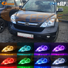 Voor Honda CR V Crv Iii 2006 2007 2008 2009 2010 2011 Xenon Koplamp Rf Afstandsbediening Bluetooth App Multi color rgb Led Angel Eyes Kit