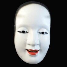 Хэллоуин Мяч Япония Noh Драма маска солнце Jiro Prajna маска Коллекционное издание смолы может маска для лица