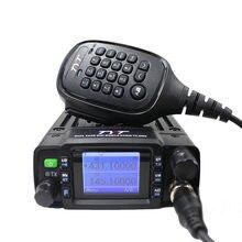 Rádio móvel de tyt TH-8600 mini 25w banda dupla 136-174mhz 400-470mhz vhf frequência ultraelevada walkie talkie ham rádio estação de rádio communciator