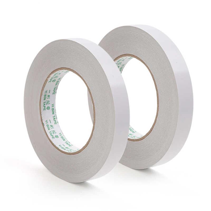 화이트 양면 테이프 종이 강한 초박형 접착 면화 양면 테이프 접착 테이프 양면 접착 테이프