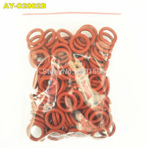 Image 3 - free shipping 200pieces fuel injector upper oring 7.8*1.9mm rubber seals for toyota mazda repair kits  ASNU17  (AY O2002B)