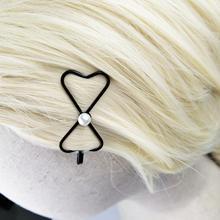 Girl Hairpin Bow-Knot-Pins Children-Accessories Stuff Kids Cheap Pearl Star 4pcs 6cm