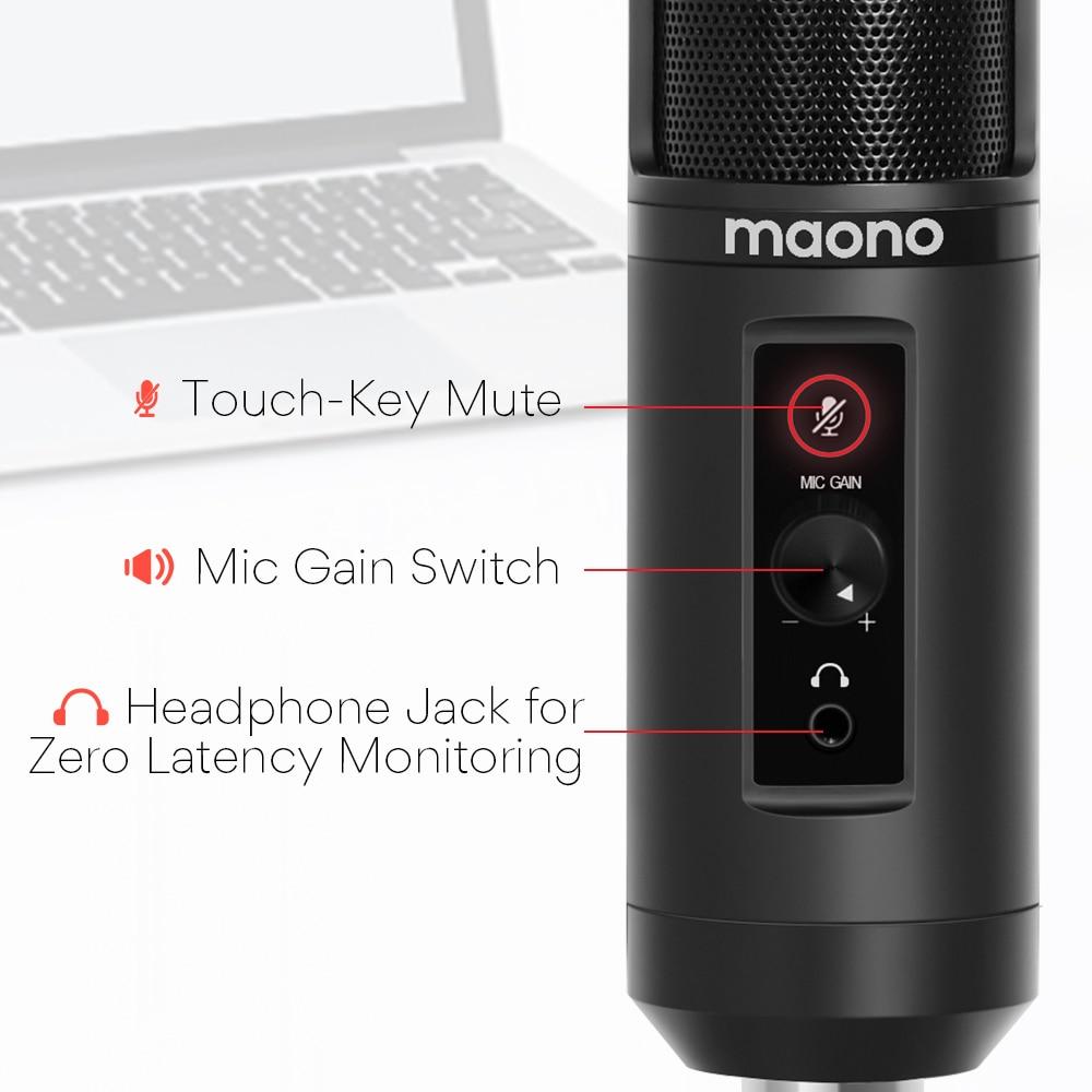 MAONO AU-PM422 Condenser Microphone 8