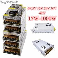 DC12V 13,8 V 15V 18V 24V 27V 28V 30V 32V 36V 42V 48V 60V 360W 600W 1000W импульсный источник Питание источник трансформатор переменного тока DC импульсный источник питания