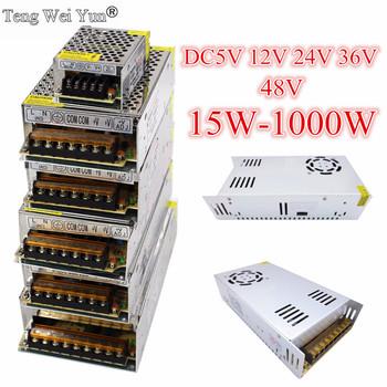 DC12V 13 8V 15V 18V 24V 27V 28V 30V 32V 36V 42V 48V 60V 360W 600W 1000W przełączania zasilania elektrycznego transformator źródła prądu DC SMPS tanie i dobre opinie Teng Wei Yun 50 60Hz 5V 12V 24V 36V 48V power supply Pojedyncze 401-500 w 4A 5A 6A 10A 20A 60A Metal+Electronic Parts 0~60 degree Celsius