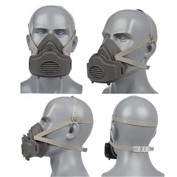 Maska przeciwpyłowa Respirator cząsteczkowy półmaska bawełniany filtr gniazdo ochronna maska do pielęgnacji twarzy i ust ochrona przed kurzem farba w sprayu tanie i dobre opinie CN (pochodzenie) AF200829-2 WORK Respirator mask