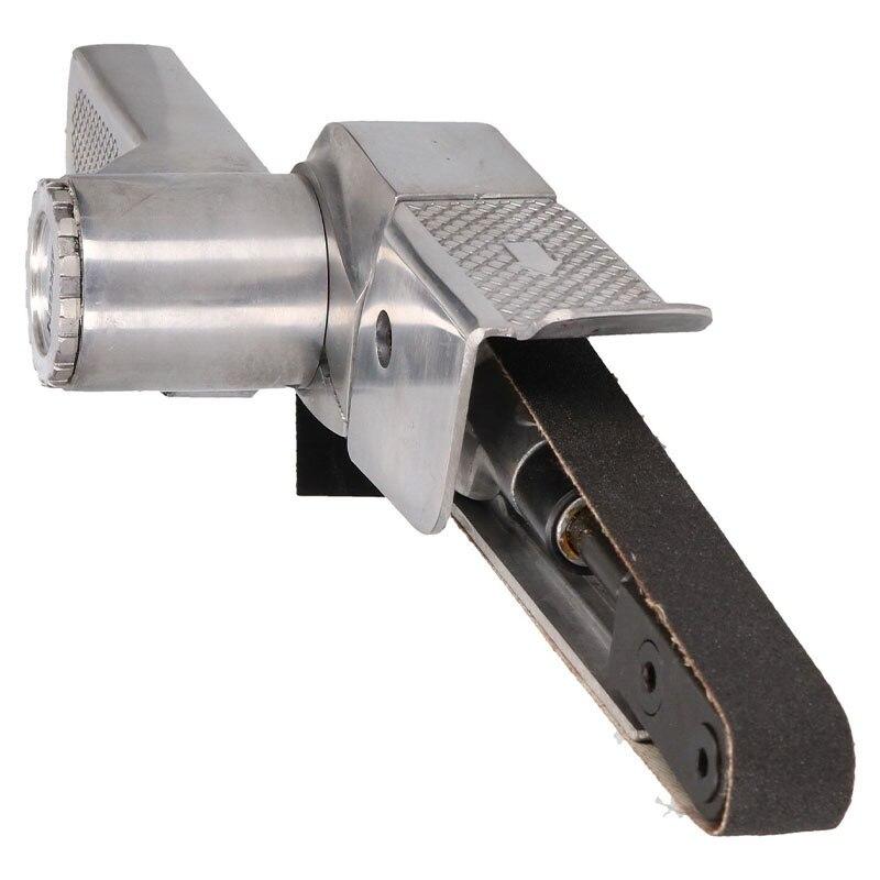 20mm Wide Air Finger Belt Sander Power File Detail Sander Sanding Rust Removal Compact Design And Easily Belt Replacing