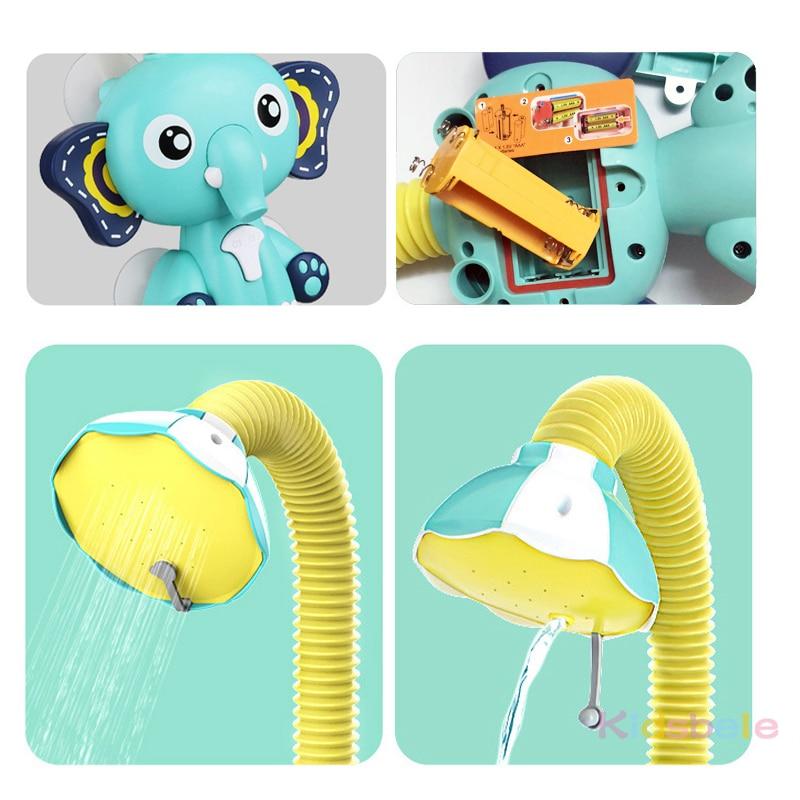 [TOYA537]大象电动洗澡玩具带包装_07