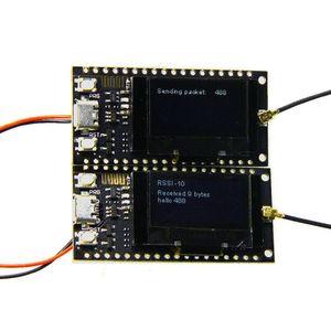 Image 1 - 2 ピース/セット TTGO LORA SX1278 ESP32 0.96 oled 32Mt ビット (4 メガバイト) 433 Arduino のための