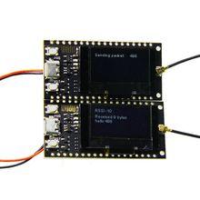 2 יחידות\סט TTGO לורה SX1278 ESP32 0.96 OLED 32Mt קצת (4 MB) 433Mhz לarduino