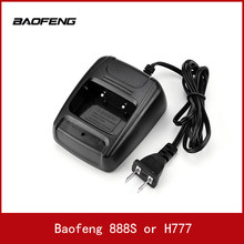 2PCS Walkie Talkie Desktop Battery Charger Li-ion Radio Battery Chargers 100-240v USB for Baofeng BF- 888S H777 Charger(China)