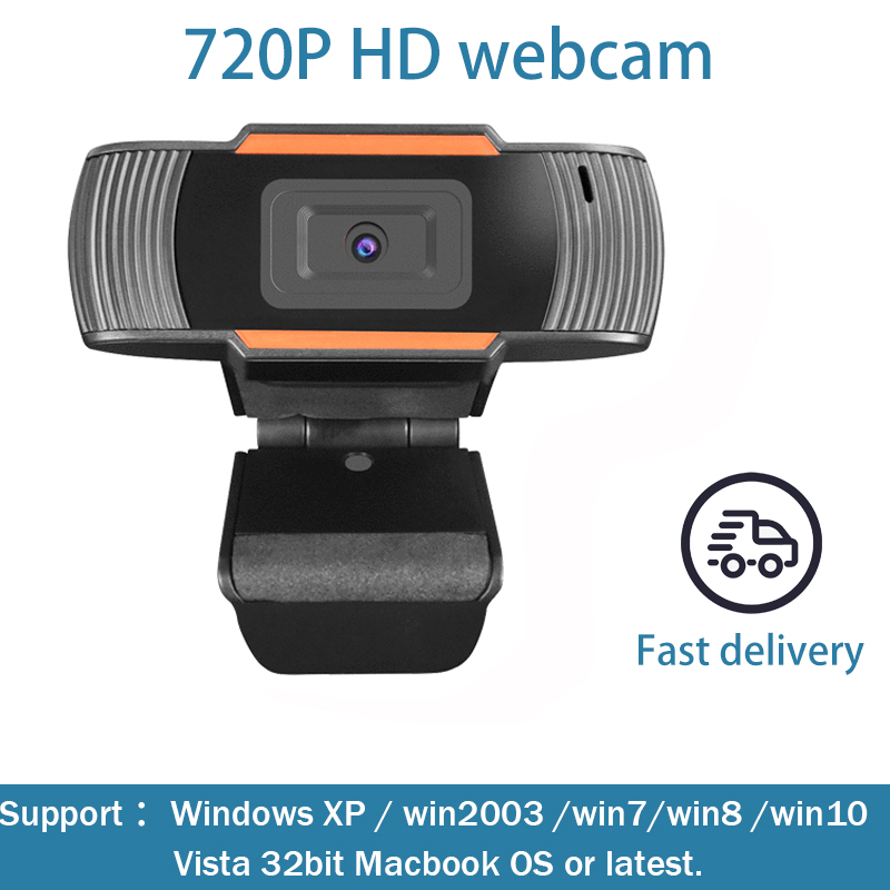 720P Computer High-definition Webcam With USB Interface Is Suitable For Windows XP / Win2003 / Win7 / Win8 / 10 / Vista 32bit Ma