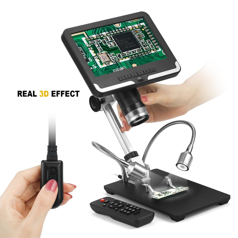 Andonstar 7 inch LCD Digital Microscope AD206 for PCB Phone Repair Soldering ToolIndustrial Maintenance Magnifier - 3