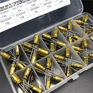 Image 3 - Hifi FAI DA TE di Alta Qualità Audio Nichicon condensatore kit assortiti scatola assortimento di 6.3V ~ 63V, 10uF ~ 470uF 100pcs totale