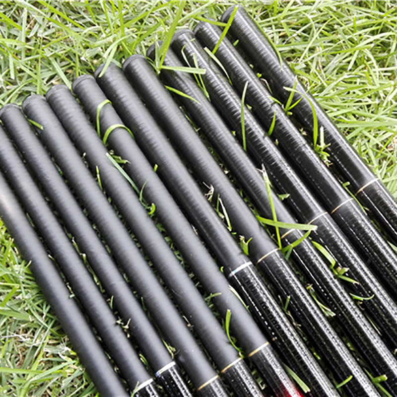 Hot Telescopic Carbon Fiber Super Hard Ultra Light Carp Fishing Pole Stream Fishing Rod Hooks 2.7/3.6/4.5/5.4/6.3/7.2m Portable