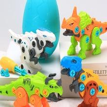 Play-Toys Building-Block DIY for Children Funny Dinosaur Egg Large Grain Hot-Product