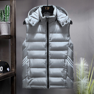Image 3 - Plus Size 8XL 7XL 6XL 5XL 4XL 2019 New Casual Vest Men Autumn Jackets Thick Vests Man Sleeveless Coats Male Warm Waistcoat men