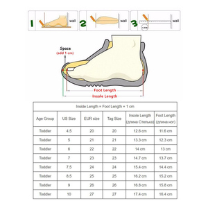 Image 5 - PU Leather Girls Shoes kids Summer Baby Girls Sandals Shoes Skidproof Toddlers Infant Children Kids Shoes Arch Support