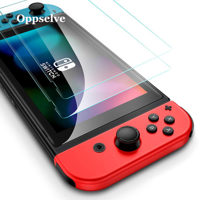 Oppselve Screen Protector For Nintend Switch 9H Tempered Glass for Nintendo Ultra Slim HD Protective Film