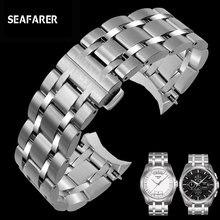 22mm 23mm 24mm homem de aço inoxidável pulseira relógio para tissot t035 couturier pulseira marca t035617 t035439a pulseira