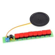 NE555 Keyboard Parts DIY Electronic Eight Note Keyboard Production