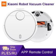 Xiaomi Mi Robot Hút Bụi Cho Nhà Sàn Cứng Thảm Tự Động Quét Bụi Bụi Thông Minh Lên Kế Hoạch Wifi Mijia Ứng Dụng Điều Khiển