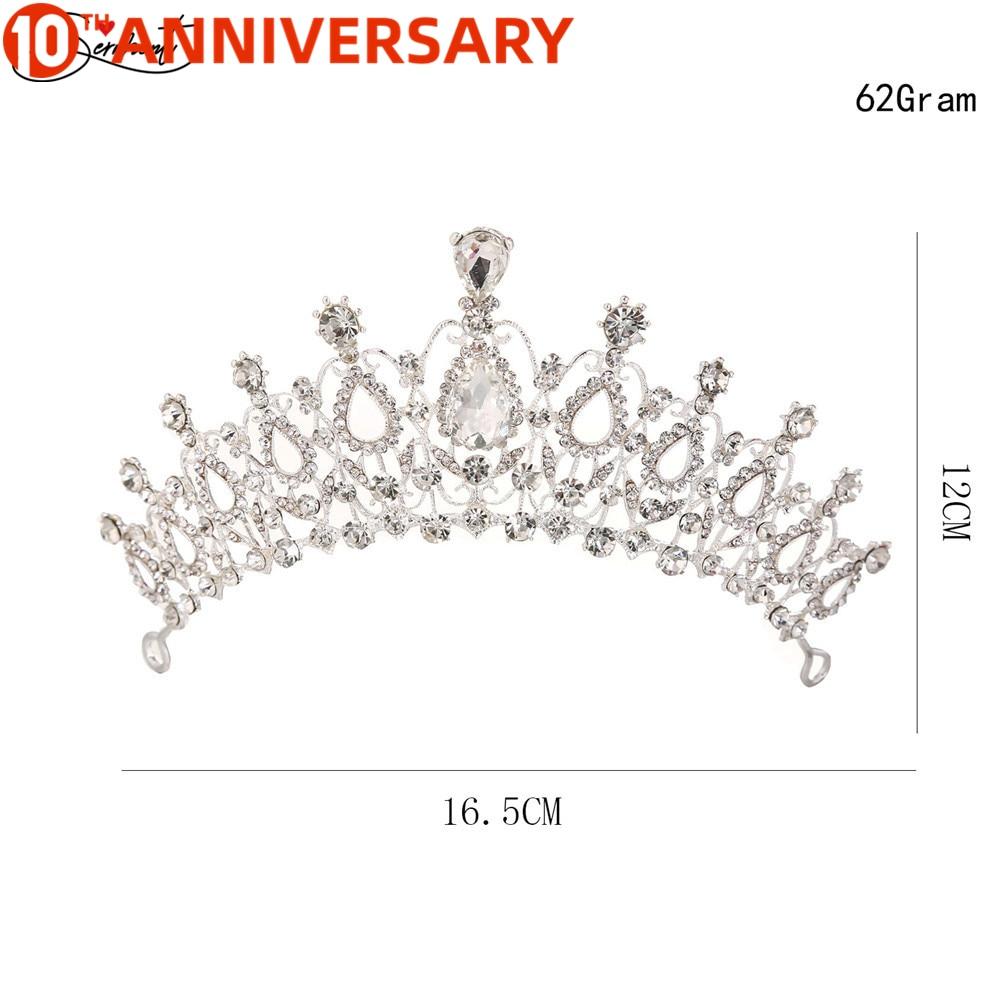 Wedding Party Jewelry  Crystal Bride Crowns Fashion Pearl Queen Wedding Headdress  Wedding Hair Jewelry Hair Accessories