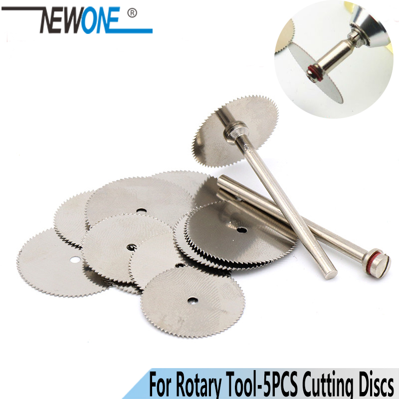 NEWONE 5Pcs 22x0.3mm Stainless Steel Cutting Disc Circular Saw Blade Abrasive Tools For Dremel Rotary Tool Dremel Accessories