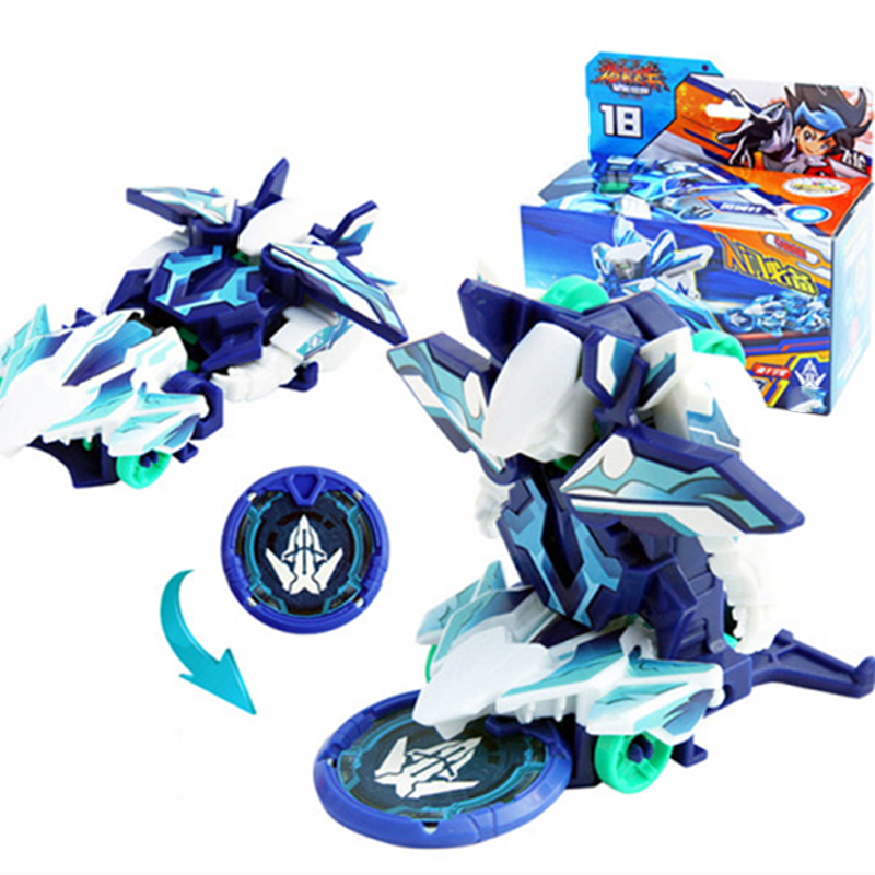 Screechers Wild Burst Speed Fly Deformation Car Action Figures  Capture Wafer Flips Transformation Car Toys For Kids Gift