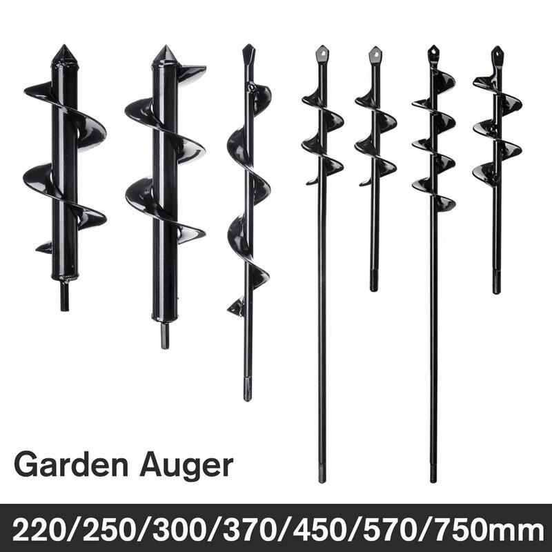 1 stücke Erdbohrer Loch Digger Werkzeug Garten Pflanzen Maschine Bohrer Zaun Bohrer Post Post Loch Digger Garten Auger hof Werkzeug
