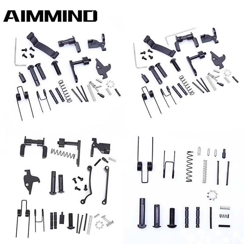 Набор тактических деталей AR15 для всех нижних деталей, пружины и обнаружения. Магазин 223 5,56, аксессуары для охоты на поймать винтовку