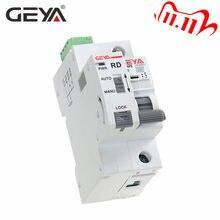 GEYA – Rail Din GYM9 1P avec dispositif d'auto-verrouillage, disjoncteur à réinitialisation automatique, pour maison intelligente