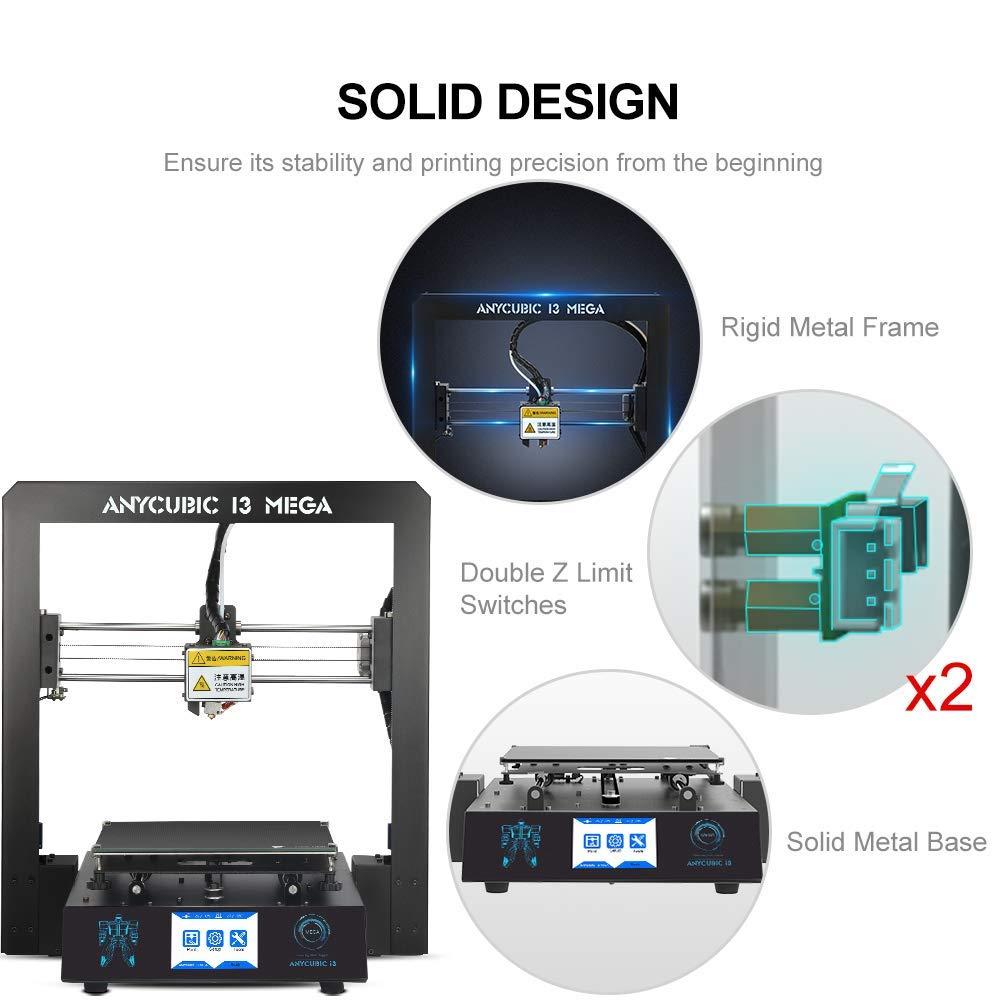 ANYCUBIC I3 メガ 3D プリンタ新アップグレードフルメタルフレーム FDM デスクトップノズルプラスサイズ格子プラットフォーム 3d プリンタ DIY キット  グループ上の パソコン & オフィス からの 3D プリンタ の中 2