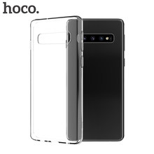 HOCO TPU สำหรับ Samsung Galaxy S10 S10 + S10e Ultra Thin Soft สำหรับ Samsung Galaxy Note10 Note10 PLUS โปร่งใสพับได้(Hong Kong,China)