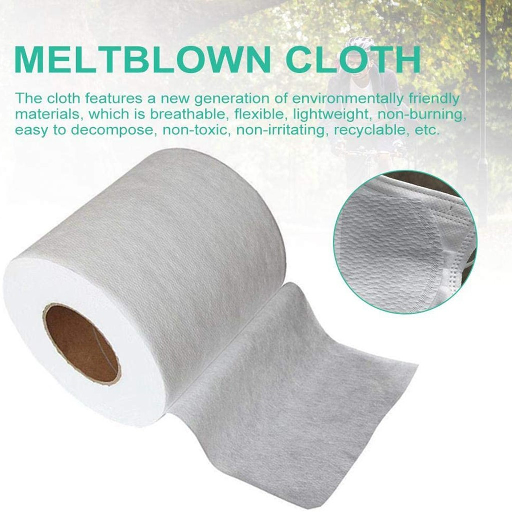 Filter Fabric Meltblown Nonwoven Fabric Original Cloth Material Filter Fabric Paper Towels, Soft Toilet Paper, White Toilet Pape