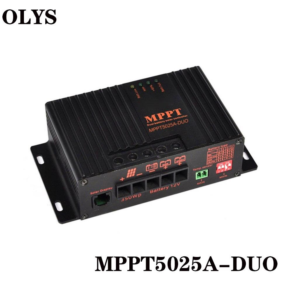 MPPT Solar Controller 20A Solar Panel Batterie Regler Temperatur Entschädigung Solar Laderegler 12 v Auto RV