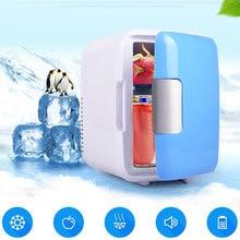 4l carro casa mini refrigerador aquecedor portátil pequeno refrigerador garrafa de bebê aquecedor para bens de carro
