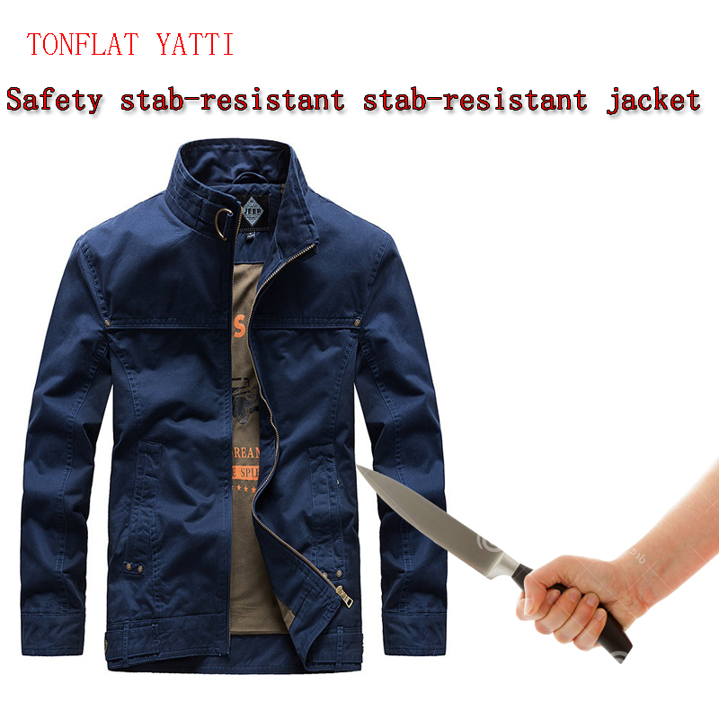 New2020 PE/HPPE Men Anti-chopper Stab-resistant Jackets Self-defense Flexible Stealth Police Fbi Swat Safety Protective Clothing