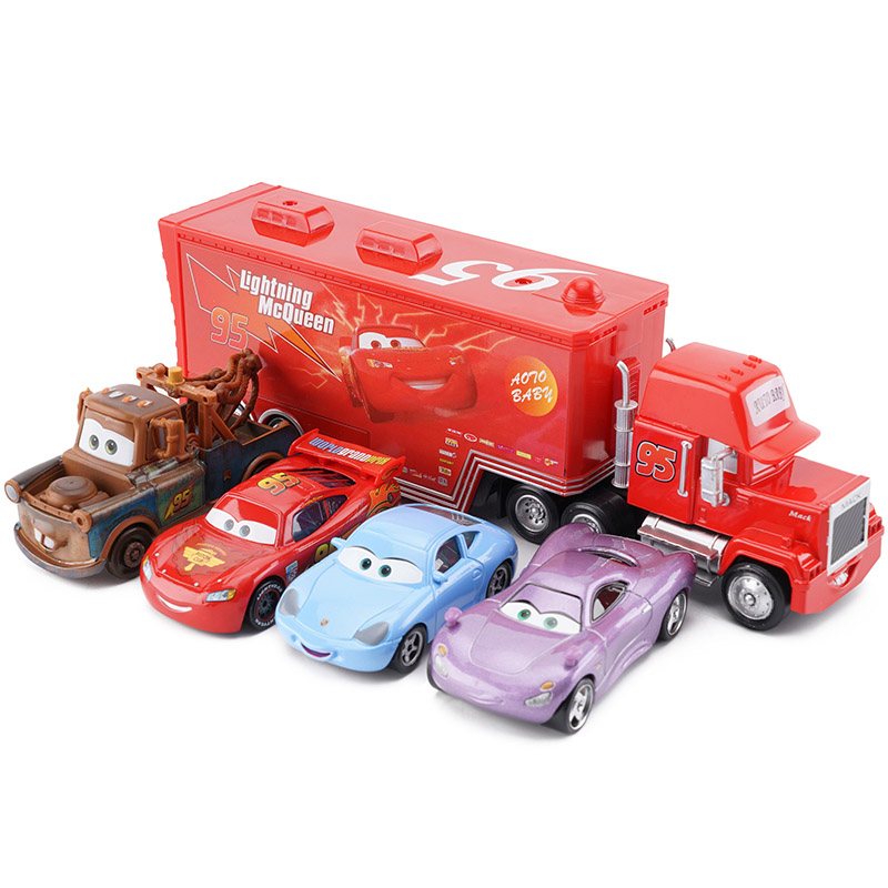 4 Cars and 1 Truck